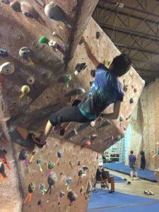 Climbing Spiderwoman