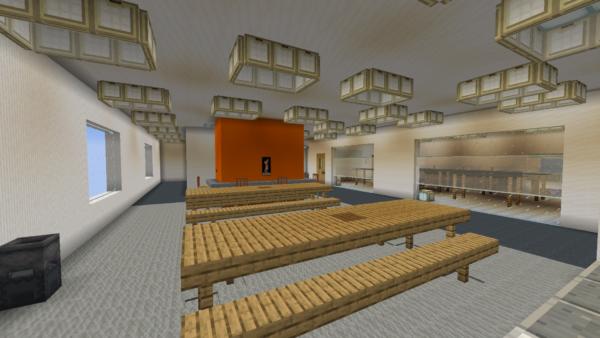 Exact replica of TNS built in Minecraft 33
