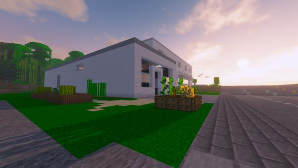 Exact replica of TNS built in Minecraft 24