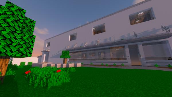 Exact replica of TNS built in Minecraft 1