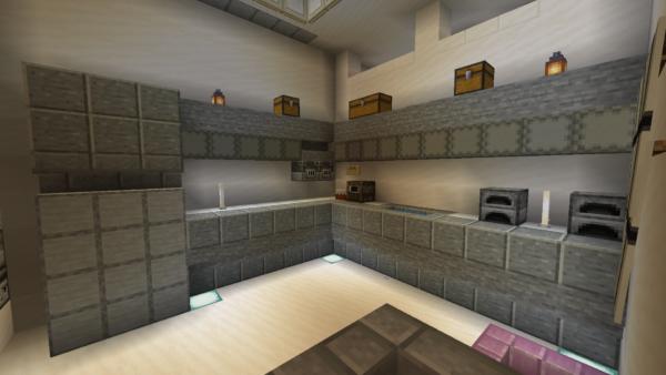 Exact replica of TNS built in Minecraft 8