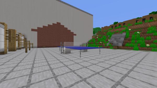 Exact replica of TNS built in Minecraft 5
