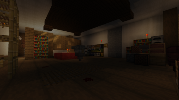 Exact replica of TNS built in Minecraft 25