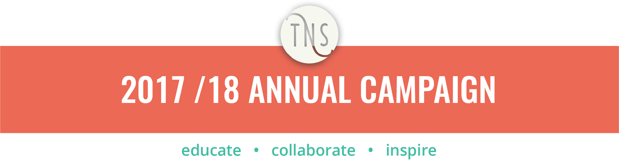 TNS Annual Campaign Banner